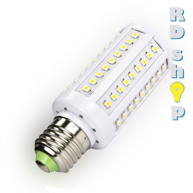 Žárovka LED CORN E27 230V 7W studená bílá