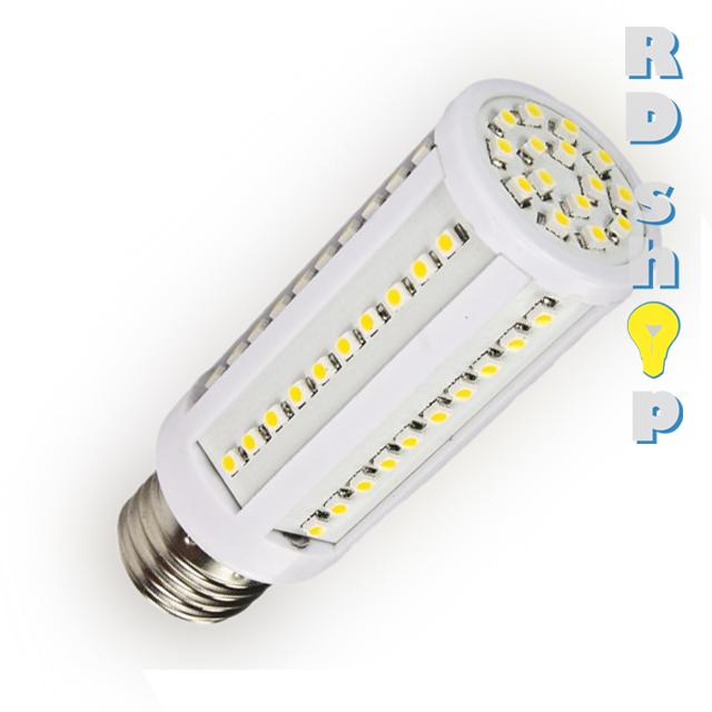 Žárovka LED CORN E27 230V 10W studená bílá