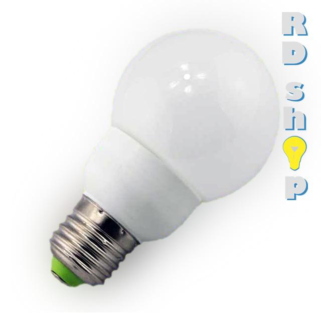 EPISTAR LED žárovka E27 230V 1,8W studená bílá