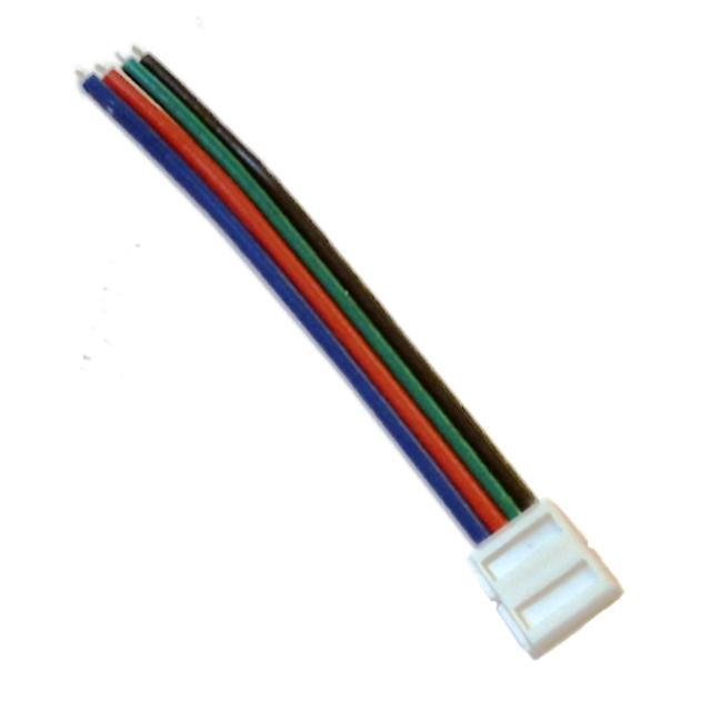 Napájecí RGB konektor 10 mm pro LED pásek