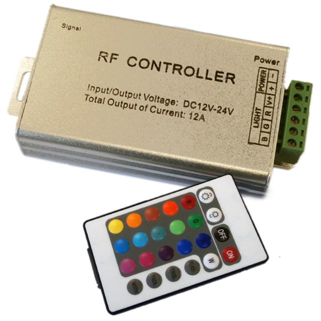 Dálkový ovladač RGB 144W