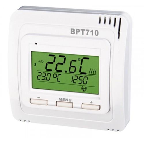 Termostat bezdrátový prostorový BPT710