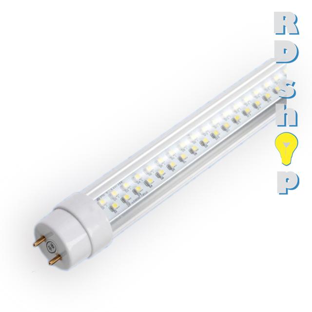 LED trubice T8 60 cm 10W teplá bílá čiré sklo